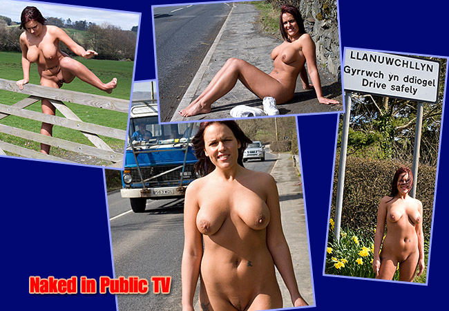 Sarah Naked In Public Is Now Showing The Members